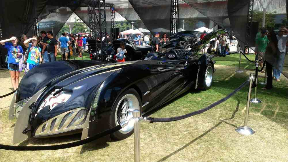 1997 George Clooney's Batmobile