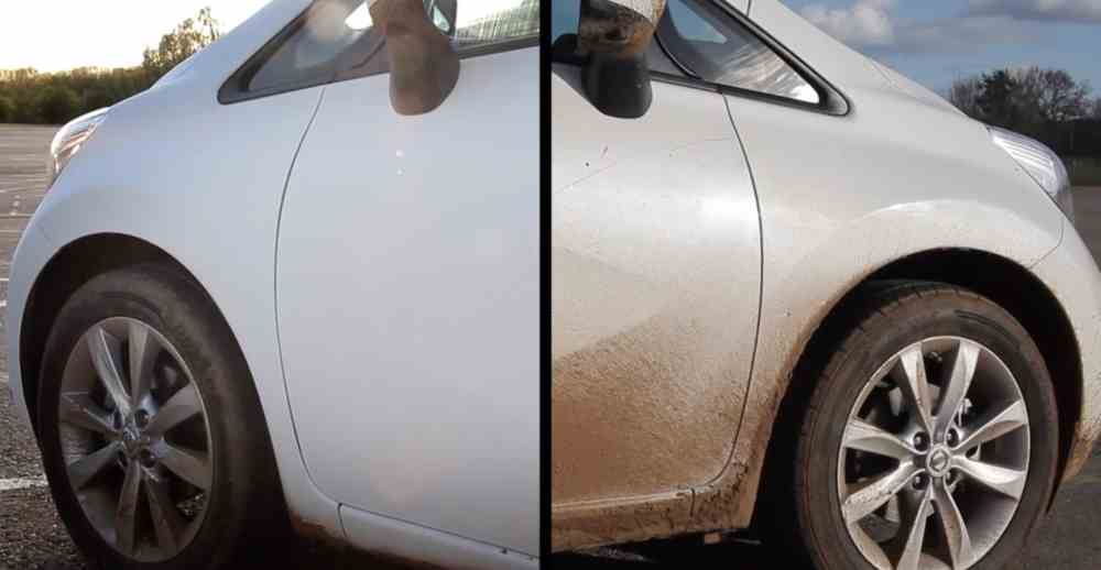 NIssan's Self-Cleaning Car Paint