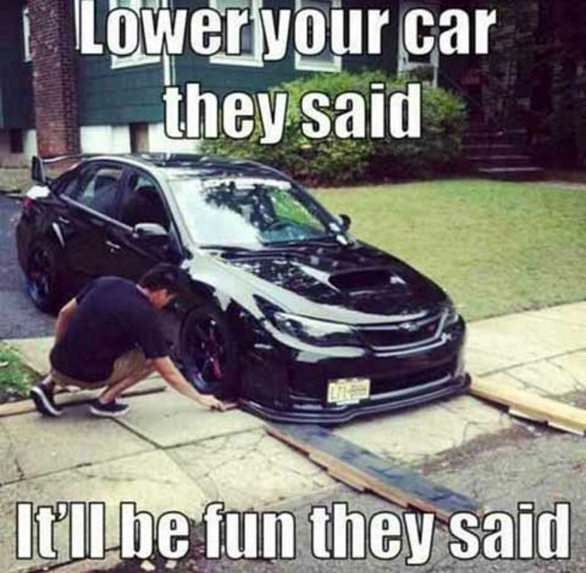 Lowered Cars Meme