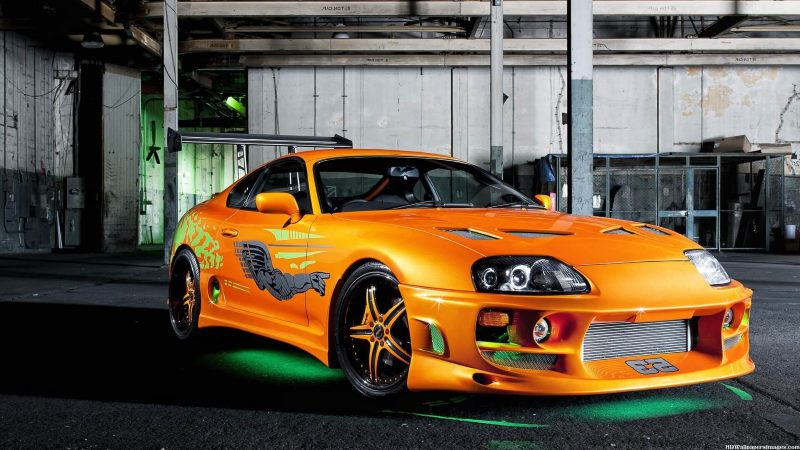 Paul Walker S Cars In The Fast And The Furious Movies