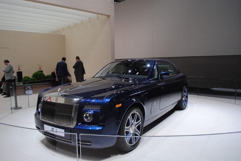 Johnny English Car Rolls Royce Phantom