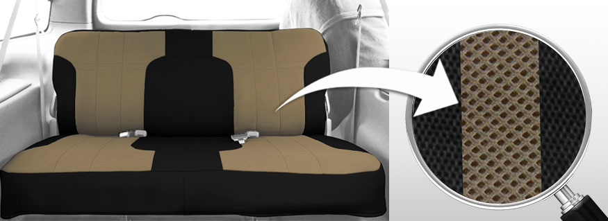 mesh seat covers breathable form fitting material free shipping. Black Bedroom Furniture Sets. Home Design Ideas