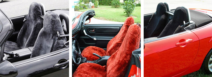 Sheepskin Seat Covers - Shear Comfort