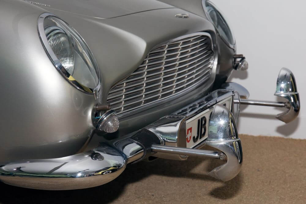 Aston Martin DB5 in Goldfinger