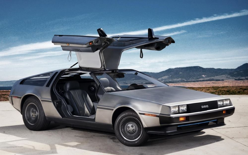 Just Why Is The Flying Back To The Future Car A Delorean-2925