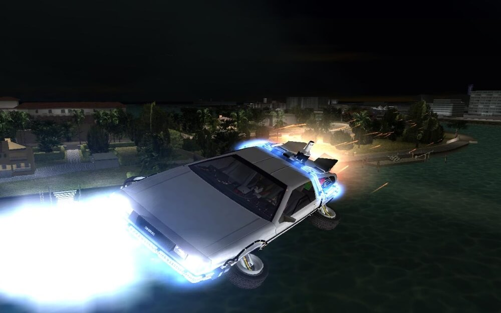 Just Why Is the Flying Back to the Future Car a DeLorean?