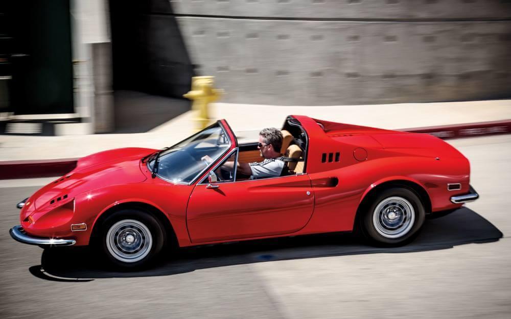 Old Ferrari Dino