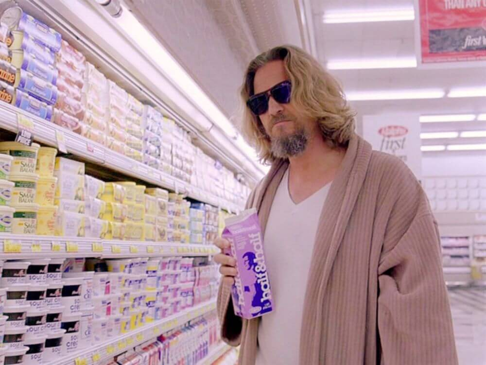 Jeff Brdiges as The Dude