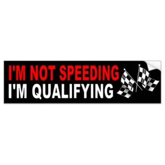 racing car humor