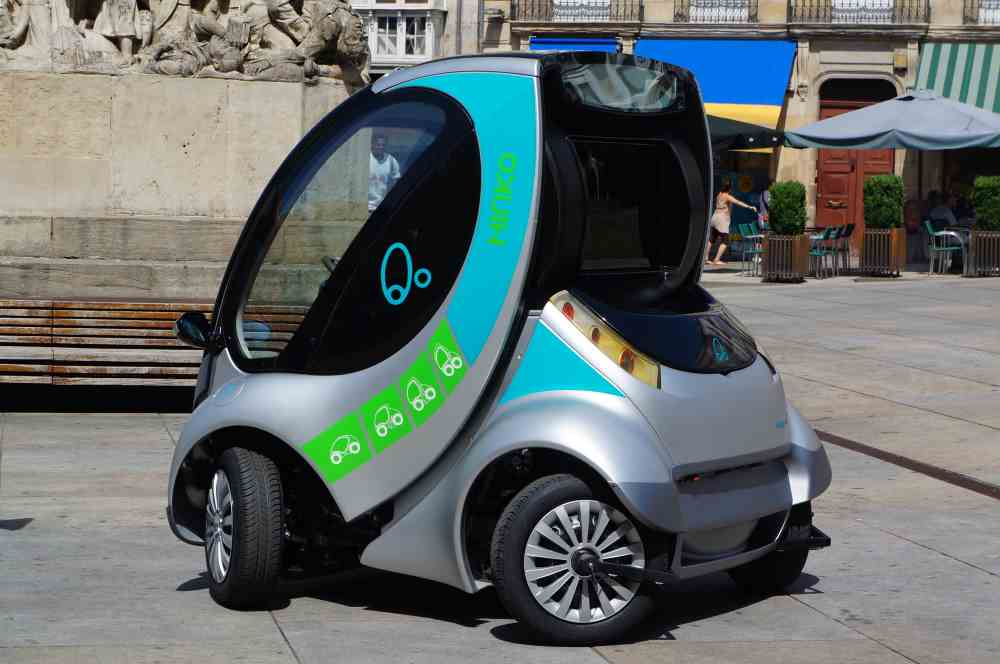 Fold Up Car Electric Car