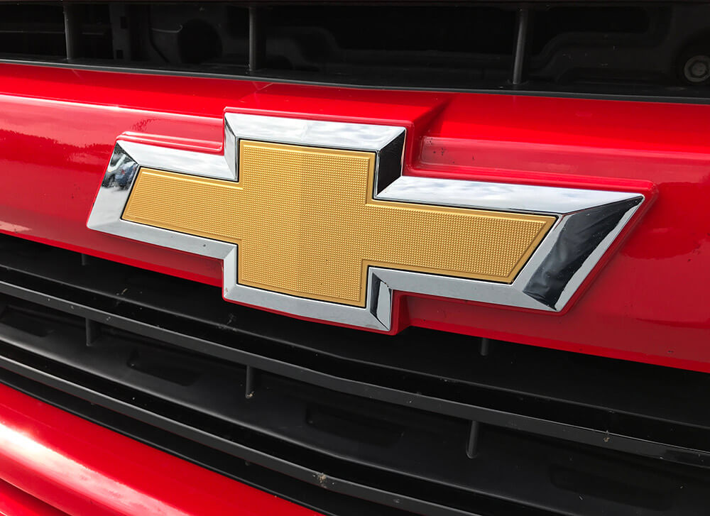 Chevrolet History About Bowtie Logo