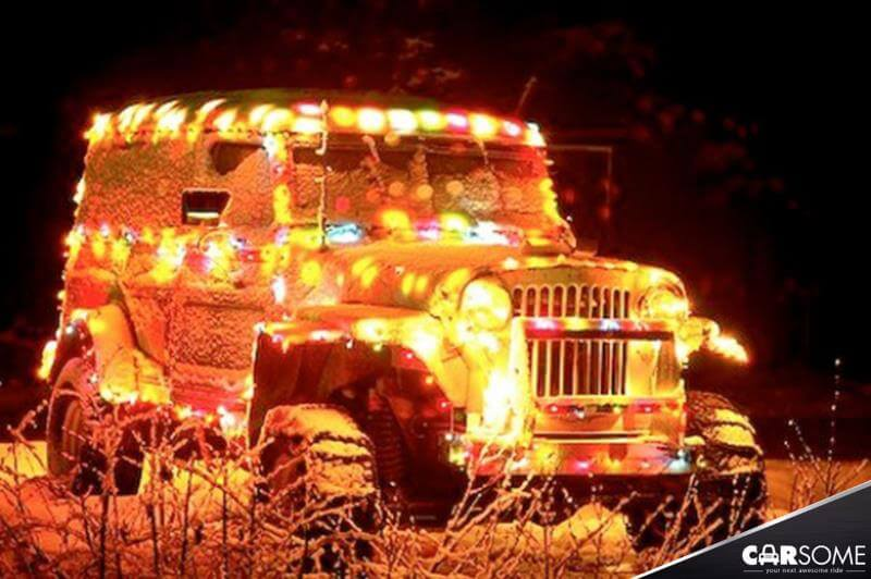jeepers its cold outside - Jeep Christmas Decorations