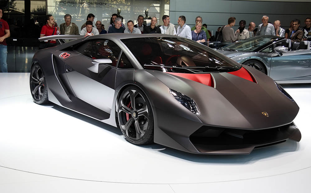 Lamborghini Sesto Elemento Lamborghini List of Top Speeds