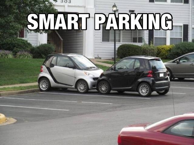 Smart Car Accident Meme