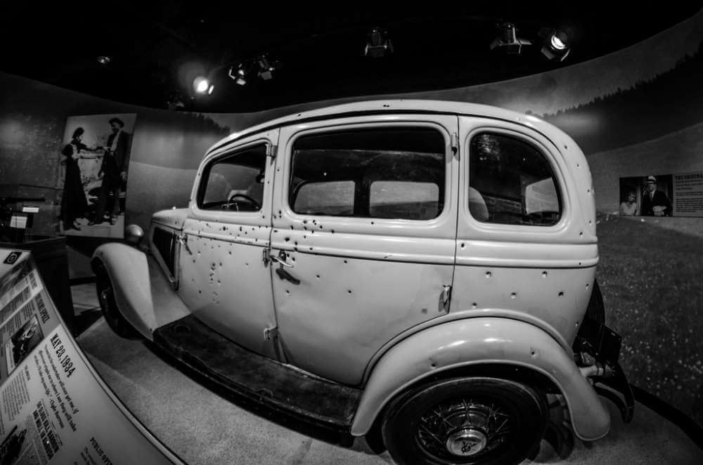 Haunted Car of Bonnie and Clyde