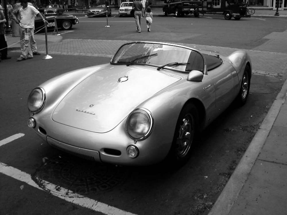 Phantom Vehicle James Dean Porsche