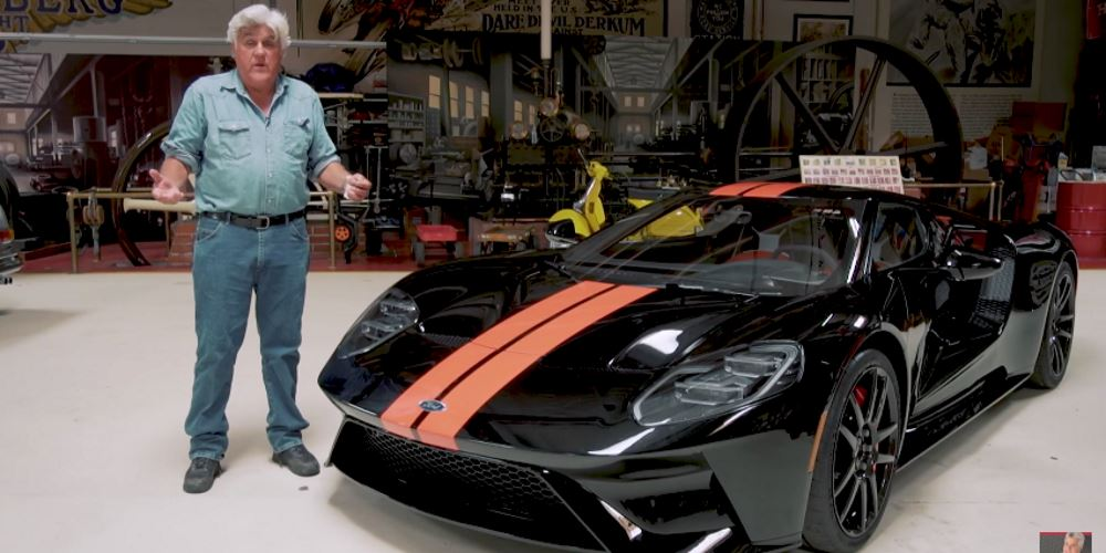 The jay leno car garage jay leno s car collection is for Garage happy car