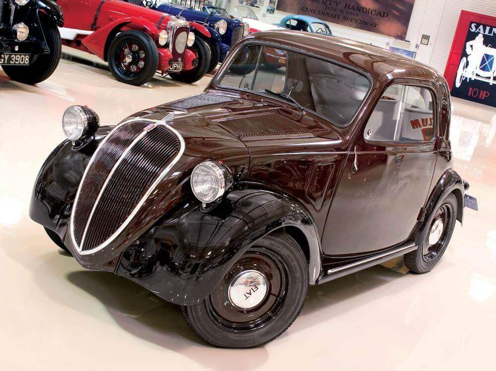 1937 Topolino from Jay leno's car collection