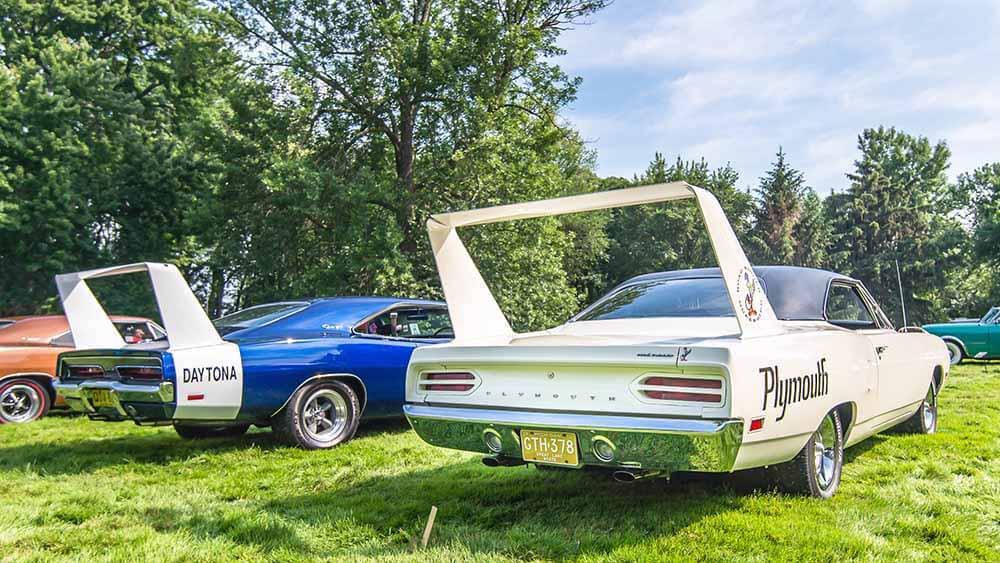 Dodge Charger Daytona and Superbird John Cena's Cars