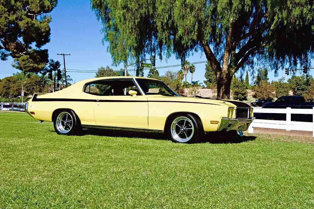 Classic Buick GSX John Cena Garage
