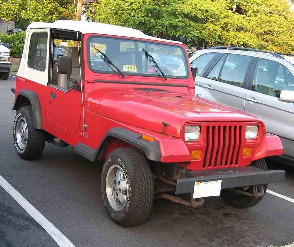 Jeep Wrangler John Cena