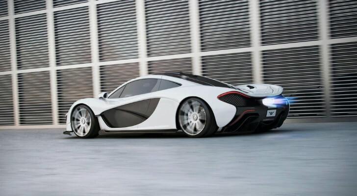 Black White P1 McLaren