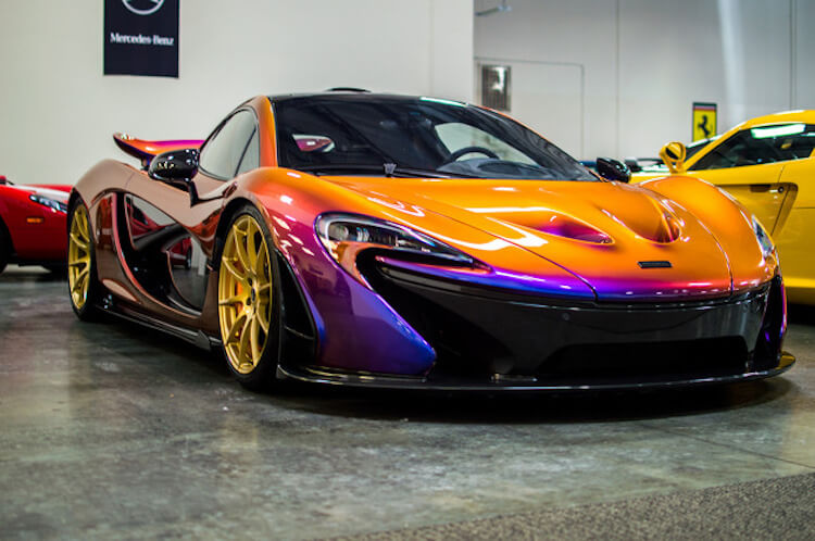 Carbon Fibre Color Changing P1