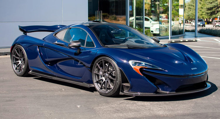Custom Blue McLaren Pc