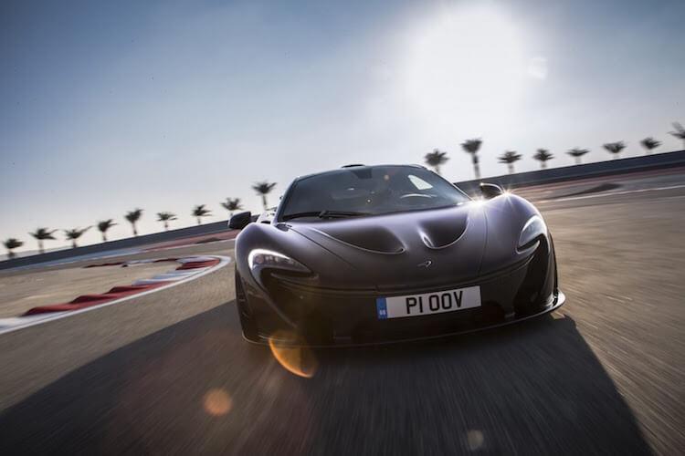 Black McLaren P1