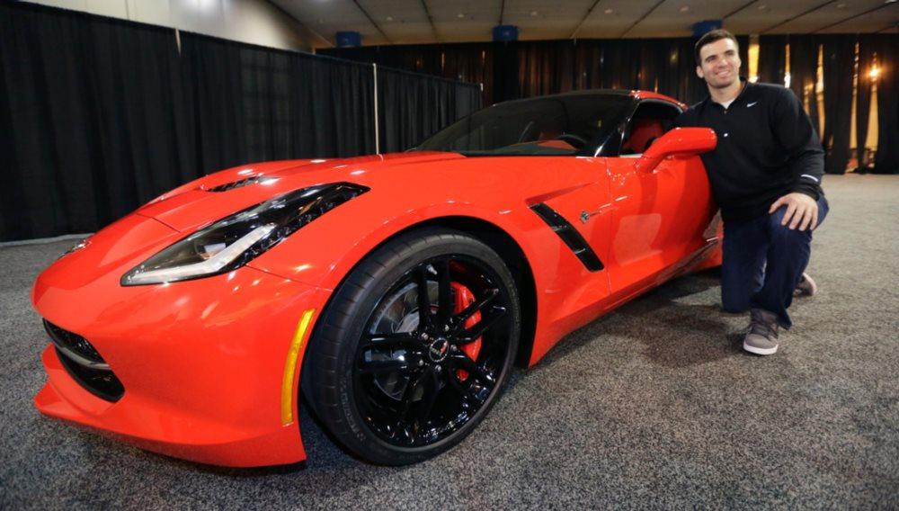 MVP Cars 2014 Chevy Corvette Joe Flacco