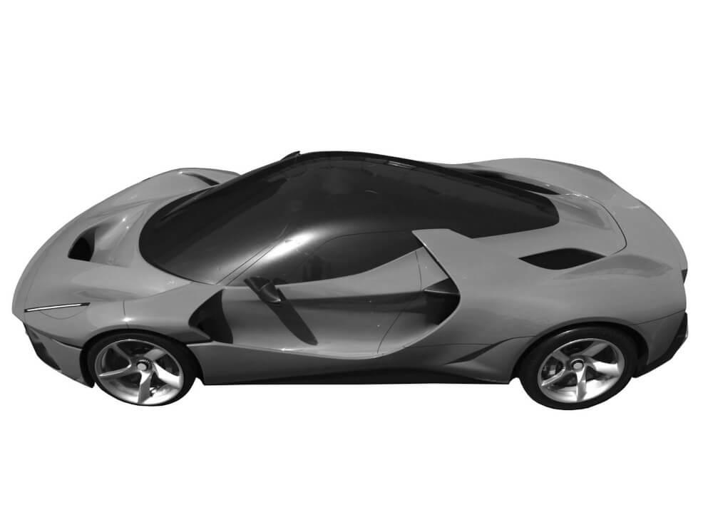 Brand New Ferrari