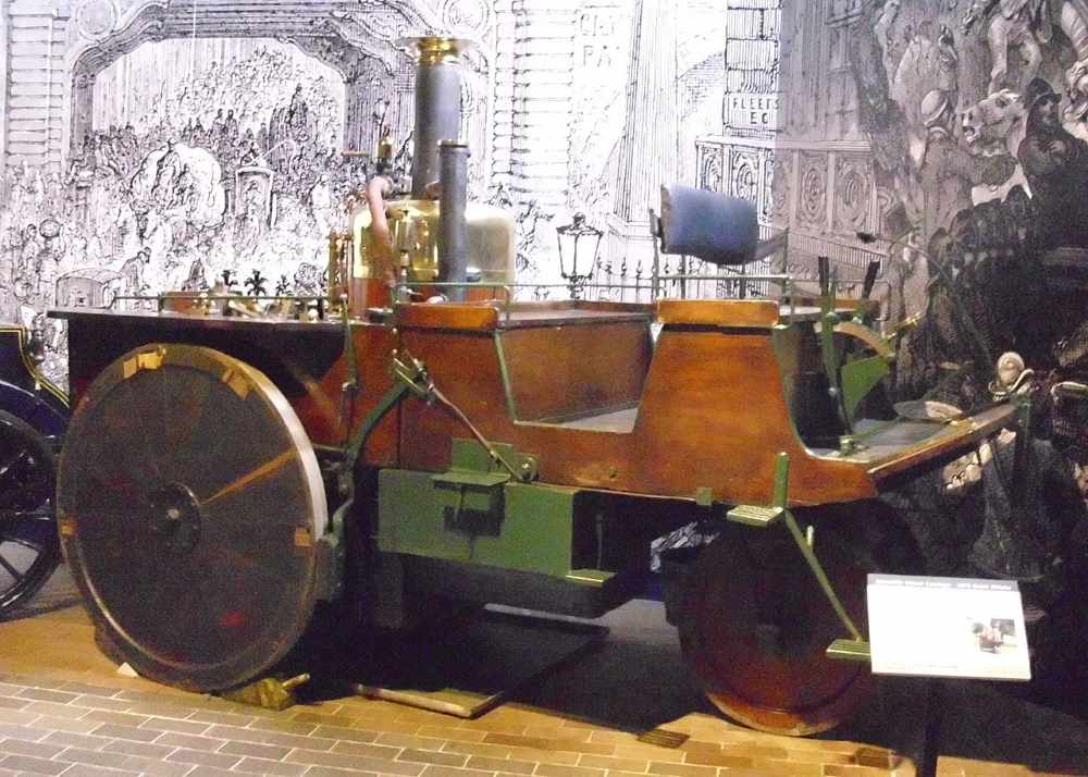 1875 Grenville Steam Carriage