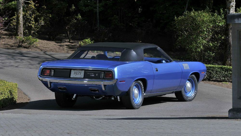 1971 Plymouth Hemic 'Cuda Convertible