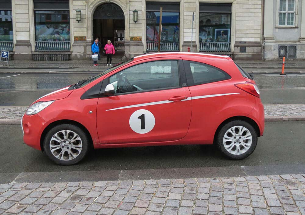 Smallest Cars in the World Ford Ka