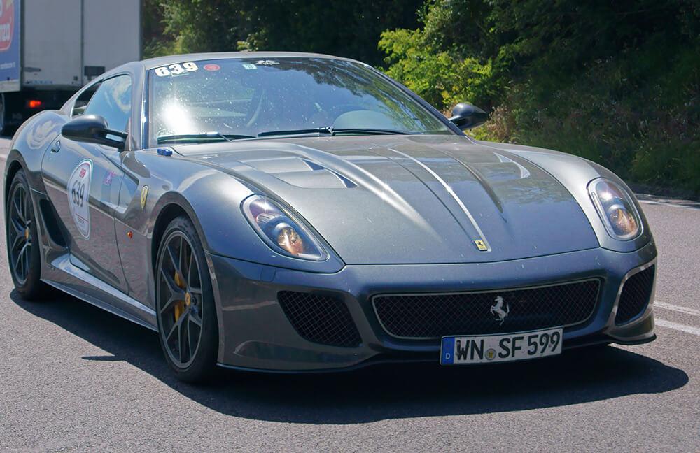 Cristiano Ronaldo Car Ferrari
