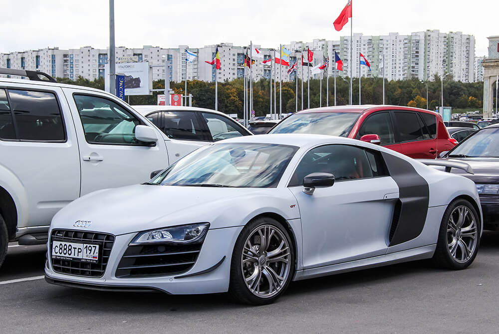 Soccer Players Car Eden Hazard Audi R8
