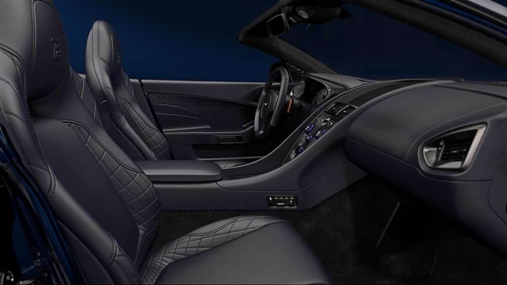 Tom Brady Aston Martin Custom Interior
