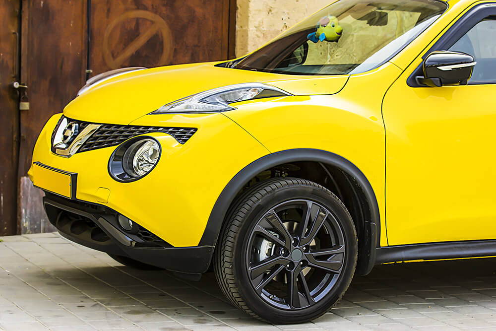 Nissan Juke Hideous Vehicle