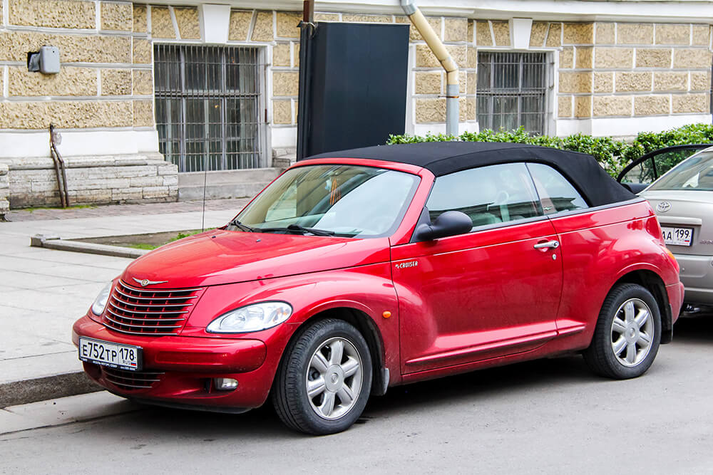 Ugliest Car in the World: PT Cruiser Convertible
