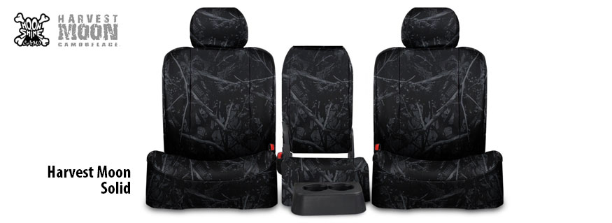 Harvest Moon Camo Seat Covers