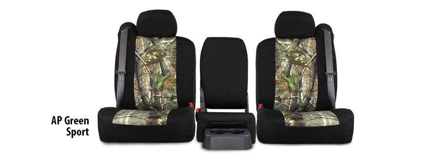 Realtree AP Green Sport Real Camo Seat Covers