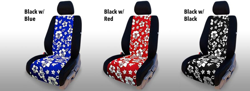 Hawaiian Seat Covers Floral Seat Covers For A Tropical