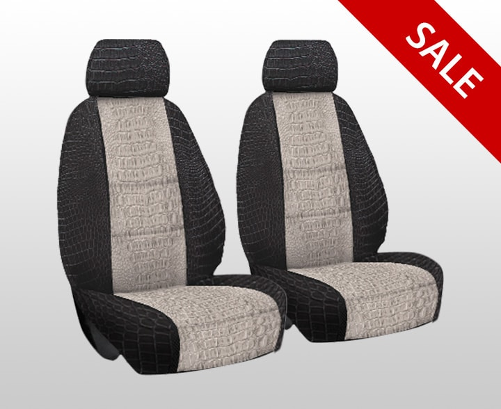 Exotic Alligator Seat Covers   Unique Faux Leather Seat