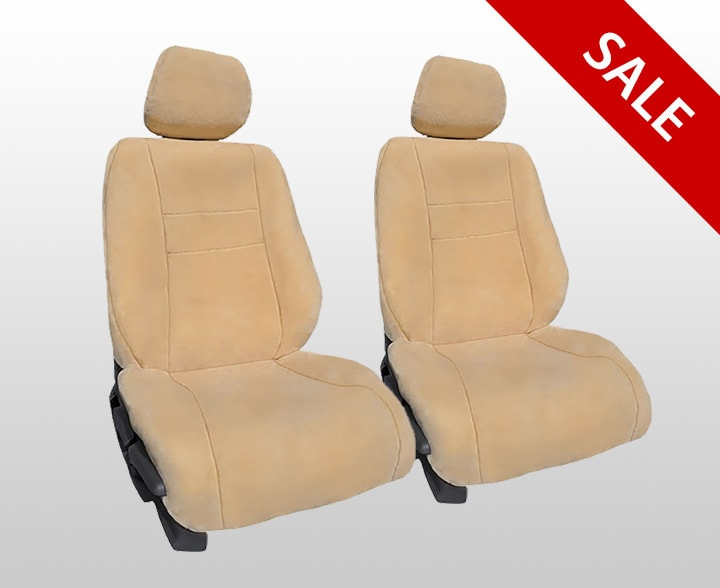 Luxury Fleece Imitation Sheepskin Seat Covers