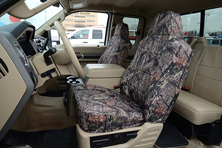 Mossy Oak Seat Covers