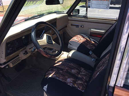 Realtree Camo AP Seat Covers