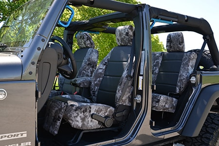 Kryptek Raid Seat Covers