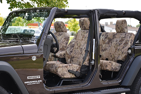 Kryptek Highlander Seat Covers
