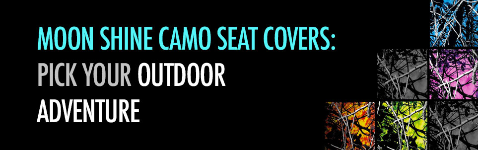 Moonshine Camo Seat Covers