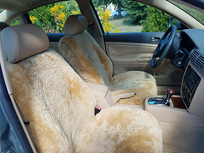 Are These Types Of Car Fabrics Suitable For Long Drives Sore Backs And Insulation Sheepskin Seat Covers